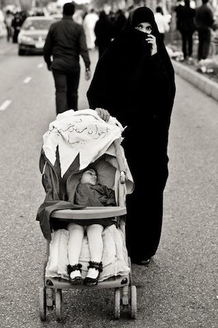 Στη διαδήλωση, Δεκέμβριος 2011 (φωτο Saeed Saif)