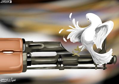"""""""Μην Πυροβολείς"""" του Mohammad Saba'aneh"""